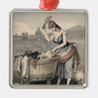 Marianne the Queen of the Washerwomen Christmas Ornament