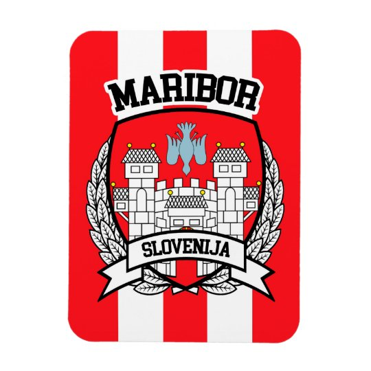 Maribor Rectangular Photo Magnet
