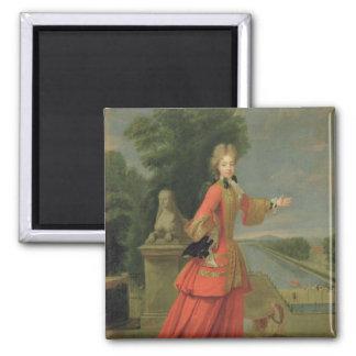 Marie-Adelaide de Savoie  in Hunting Dress Magnet
