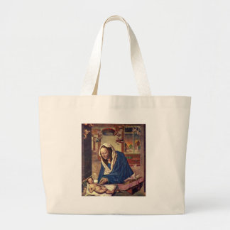 Marie altar tote bags