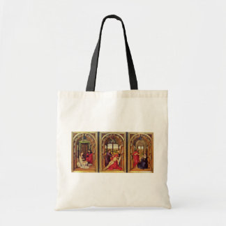 Marie Altar (Miraflores Altar) Triptych Overview Tote Bag