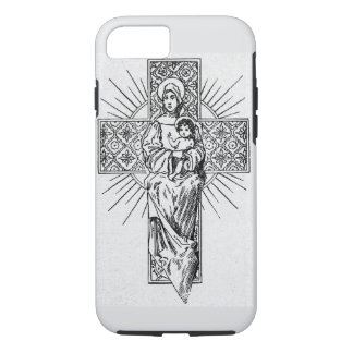 Marie and jesus iPhone 7 case