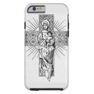 Marie and jesus tough iPhone 6 case