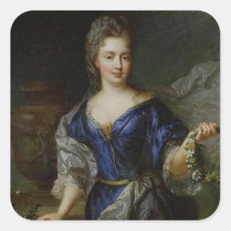 Marie-Anne de Bourbon  Princess of Conti Square Sticker