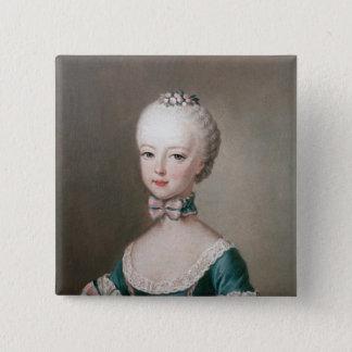 Marie Antoinette 15 Cm Square Badge