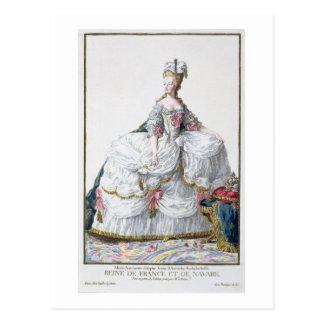 Marie Antoinette (1752-93) from 'Receuil des Estam Postcard