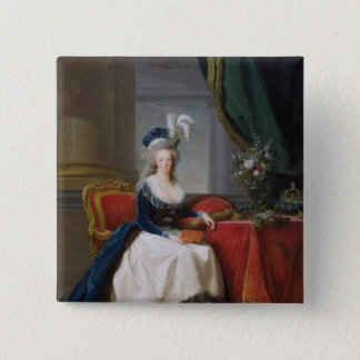 Marie-Antoinette  1788 15 Cm Square Badge