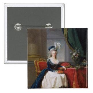 Marie-Antoinette  1788 15 Cm Square Badge