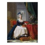 Marie-Antoinette  1788 Postcard