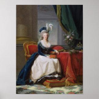 Marie-Antoinette 1788 Print