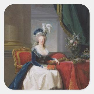 Marie-Antoinette  1788 Square Sticker