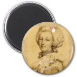 Marie Antoinette Altered Art Illustration Refrigerator Magnets