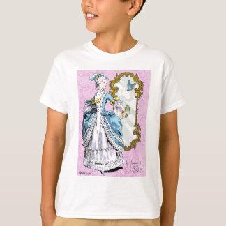Marie Antoinette and Bluebird T Shirt