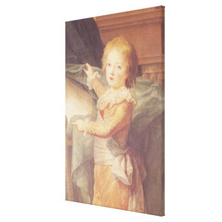 Marie-Antoinette and her Children Canvas Print