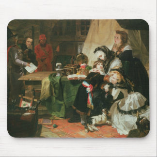 Marie Antoinette and her children Mouse Mat