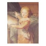Marie-Antoinette and her Children Postcard
