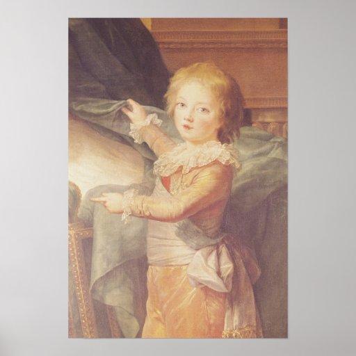 Marie-Antoinette and her Children Poster