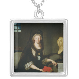 Marie-Antoinette  at the Conciergerie Silver Plated Necklace