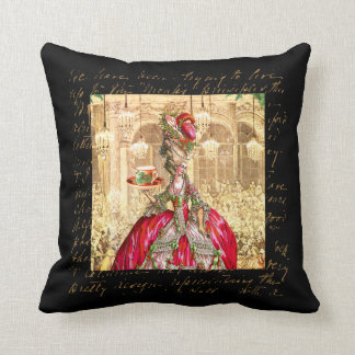 Marie Antoinette at Versailles Tea Party Cushions