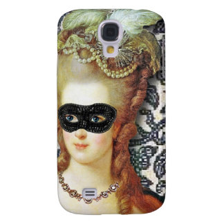 Marie Antoinette Behind The Mask, original art Galaxy S4 Case