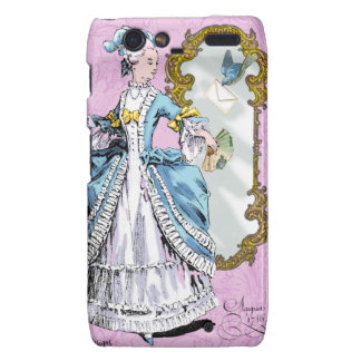 Marie Antoinette & Bluebird Motorola Droid RAZR Cover