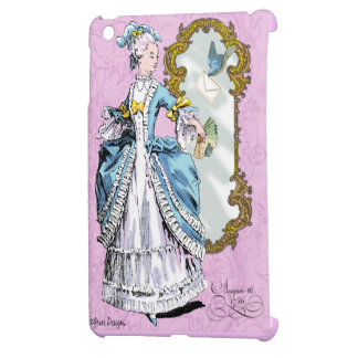 Marie Antoinette Bluebird Cover For The iPad Mini