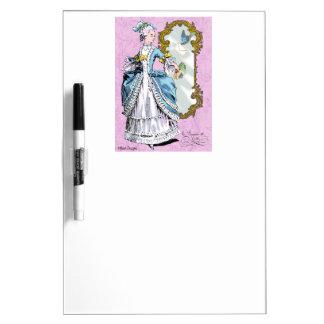 Marie Antoinette & Bluebird Dry Erase Board