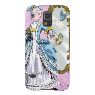 Marie Antoinette & Bluebird Galaxy S5 Cases