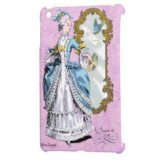 Marie Antoinette & Bluebird iPad Mini Case