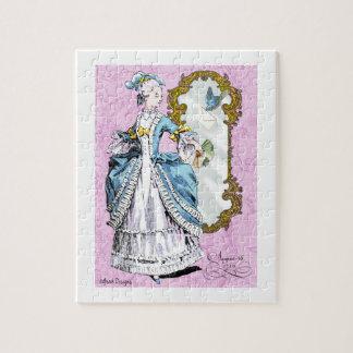 Marie Antoinette & Bluebird Jigsaw Puzzle