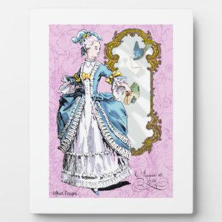 Marie Antoinette & Bluebird Photo Plaques