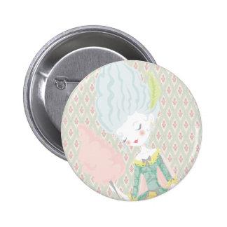 Marie Antoinette Button Pin