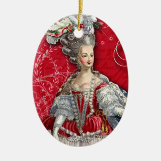 Marie Antoinette Christmas Ornament