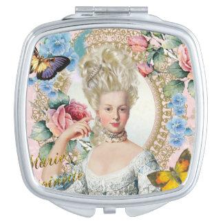 Marie Antoinette Compact Mirror Rose of Verseilles