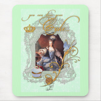 Marie Antoinette Cupcake and Bluebird Mouse Pads