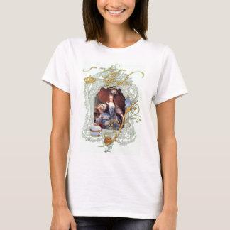 Marie Antoinette Cupcake and Bluebird T-Shirt