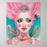 Marie Antoinette Cupcake Faerie - Queen Bee poster
