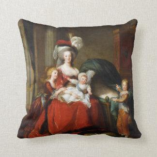 Marie-Antoinette de Lorraine-Habsbourg Throw Pillow