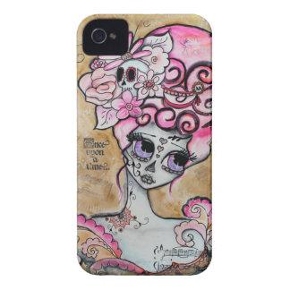 Marie Antoinette, Dia de los Muertos iPhone 4 Case