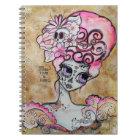 Marie Antoinette, Dia de los Muertos Notebook