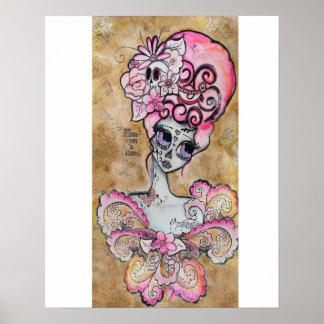 Marie Antoinette, Dia de los Muertos Poster