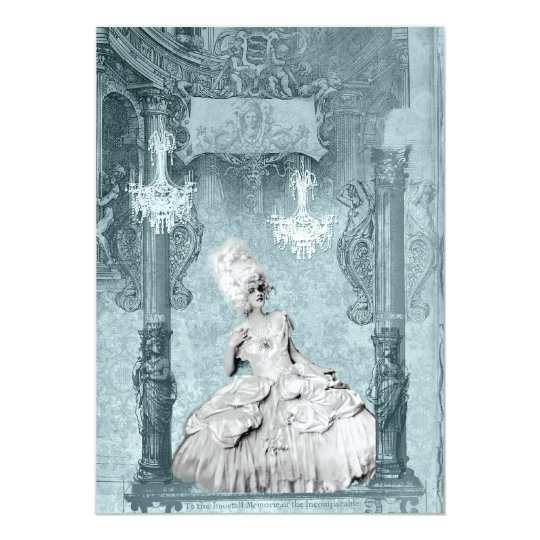 Marie Antoinette Diamonds and Dust Invitations