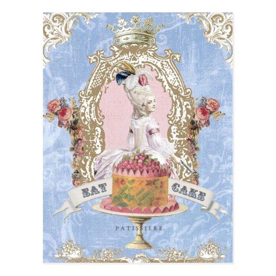Marie Antoinette-Eat Cakepostcard Postcard