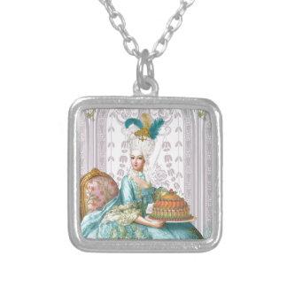 Marie Antoinette in Aqua Jewelry