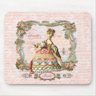 Marie Antoinette in Pink Mouse Pad