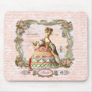 Marie Antoinette in Pink Mousepad