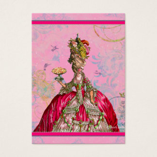 Marie Antoinette in Pink with Peacock