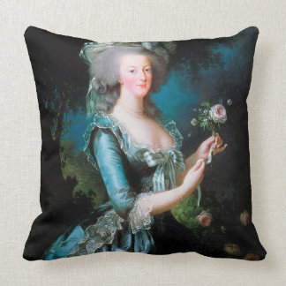 Marie Antoinette in the Garden Cushion Pillow