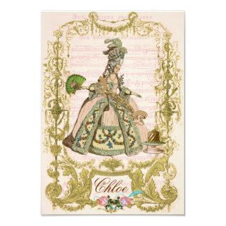 Marie Antoinette Invitations