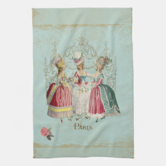 Marie Antoinette Ladies in Waiting Tea Towel